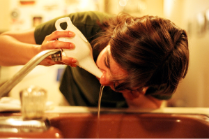 The neti pot. Gross, but effective.